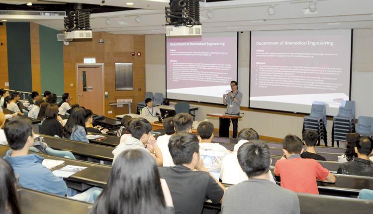 香港城市大學:課程理論與實踐並重,讓學生掌握及有能力運用最新的生物醫學工程知識。