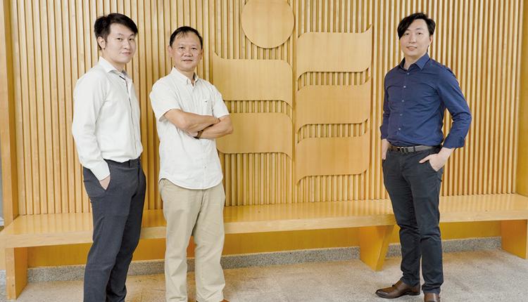 陳浩升先生  梁智熊教授 黃潤華先生