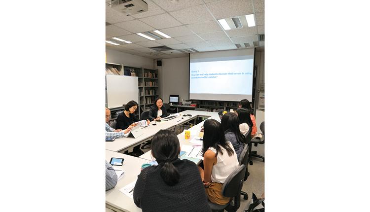 用語料庫製作教材及活動,已接觸超過 800 名老師,200 間中國內地及香港的中、小學校,共創教學新思維。
