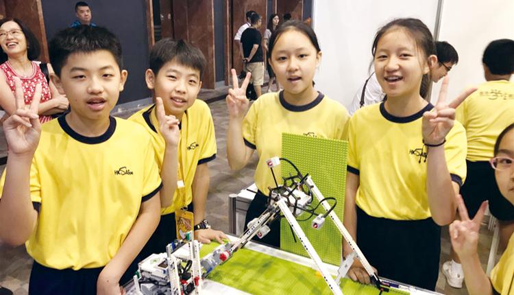 學生參與 STEM 活動