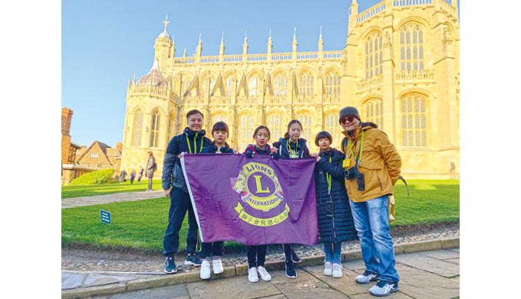 同學參加交流考察團,遠赴英國參觀教育科技展覽 ─ BETT SHOW。