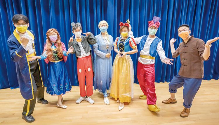 中華基督教會全完第二小學 童話世界總動員:校長老師變童話人物