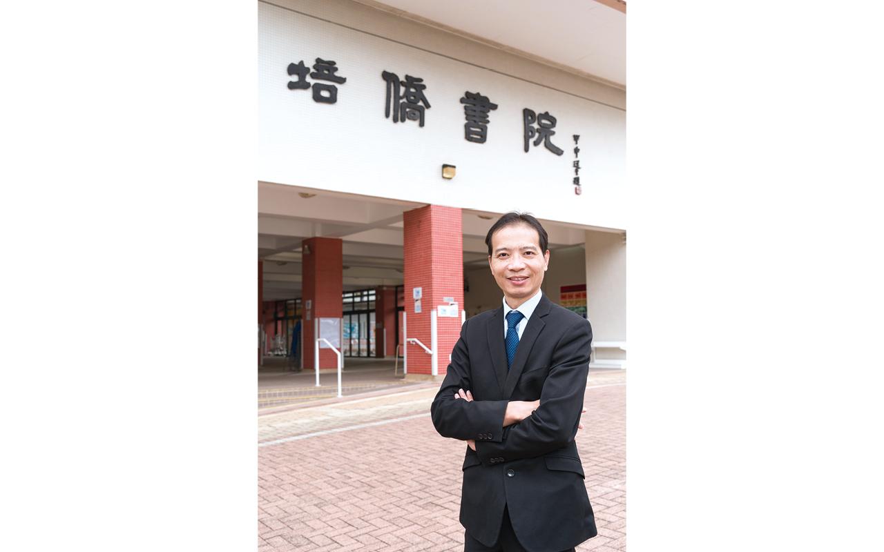 培僑書院 吳育智校長