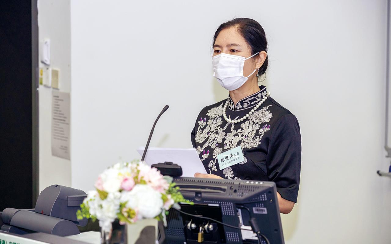馮燊均國學基金會主席馮燊均夫人鮑俊萍女士擔任主禮嘉賓並致辭。