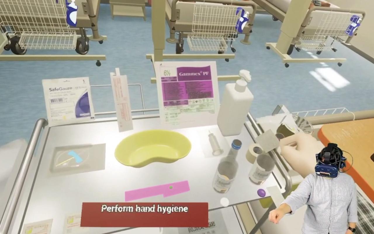 發展虛擬實境(VR)技術,應用於醫療行業。